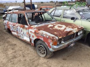 - DEMOLITION DERBY CAR
